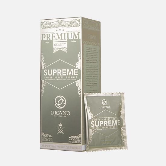 Café Supreme, healthy coffee